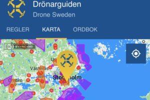 DRÖNARGUIDEN - App för drönare ios och android